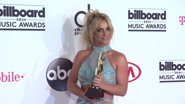 Britney Spears at 2016 Billboard Music Awards Press Room at TMobile Arena on May 22 2016 in Las Vegas Nevada