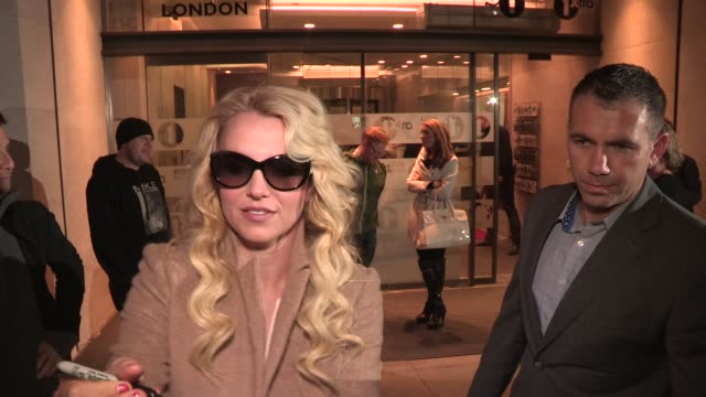 britney spears at celebrity video sightings on october 16, 2013 in london, england - celebrity sightings stock videos & royalty-free footage
