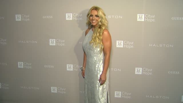 britney spears at city of hope honors halston ceo ben malka with spirit of life award on in los angeles ca - halston stock videos & royalty-free footage