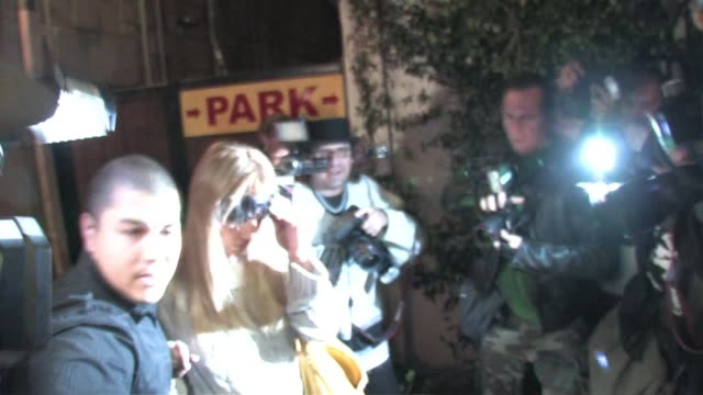britney spears at nine zero one in west hollywood at the celebrity sightings in los angeles at los angeles ca. - celebrity sightings stock videos & royalty-free footage