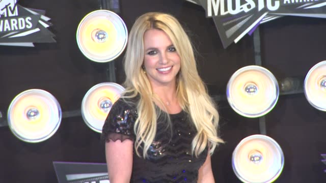 Britney Spears at the 2011 MTV Video Music Awards at Los Angeles CA