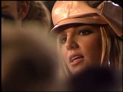 britney spears at the crossroads at grauman's chinese theatre in hollywood, california on february 11, 2002. - crossroad stock videos & royalty-free footage
