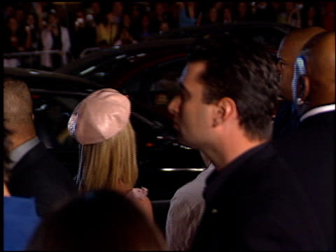 Britney Spears at the Crossroads at Grauman's Chinese Theatre in Hollywood California on February 11 2002