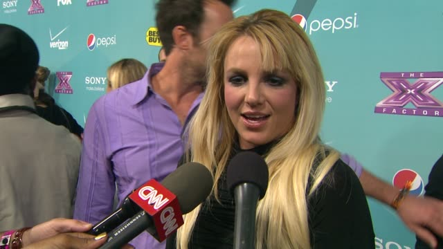 Britney Spears on the event at The X Factor Finalists party on 11/5/2012 in Los Angeles CA