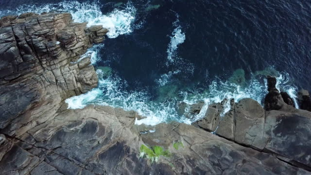 vidéos et rushes de brittany coasts - france - littoral