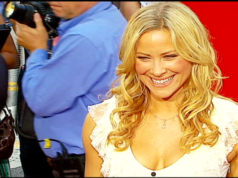 brittany daniel at the 'little man' premiere at the mann national theatre in westwood california on july 6 2006 - mann national theater stock videos & royalty-free footage