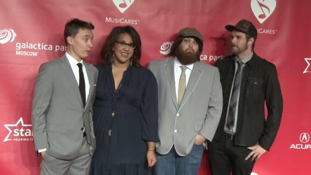 Brittany Howard Heath Fogg Steve Johnson Zac Cockrell at MusiCares 2013 Person Of The Year Tribute 2/8/2013 in Los Angeles CA