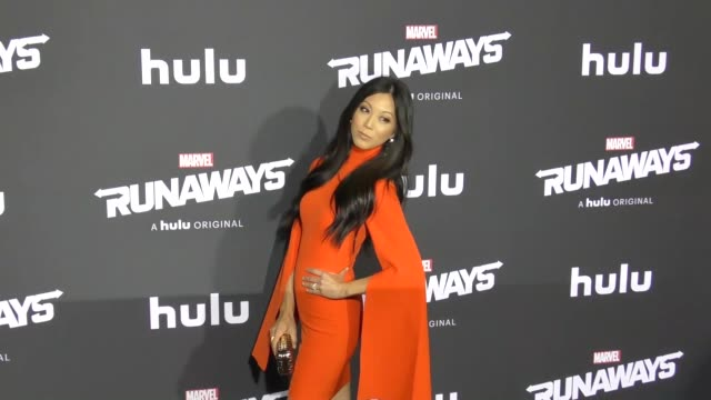 Brittany Ishibashi at the Premiere Of Hulu's 'Marvel's Runaways' on November 16 2017 in Los Angeles California