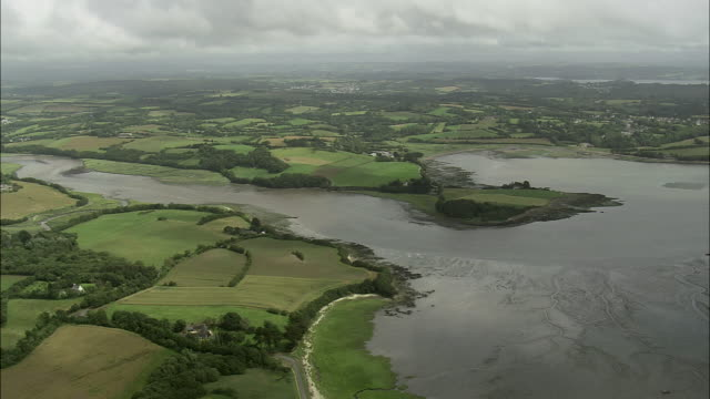 brittany landscape - finisterra bretagna video stock e b–roll