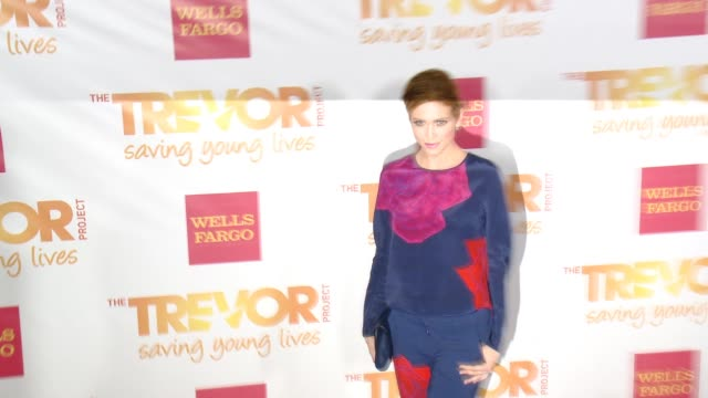 brittany snow at 16th annual trevor project benefit presented by wells fargo in los angeles ca - markenname stock-videos und b-roll-filmmaterial
