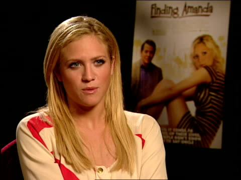 brittany snow talks about how enlightening it was working with peter tolan in his film directorial debut, how smart and quick he is at the finding... - peter snow stock videos & royalty-free footage