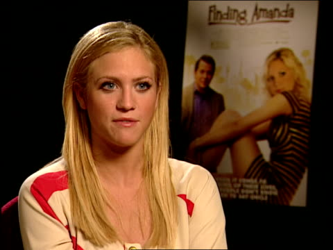 brittany snow talks about working with matthew broderick and what she's learned from him says his humor is in his subtleties and that she sometimes... - matthew broderick stock videos & royalty-free footage