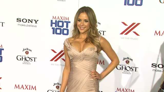 brittney palmer at the the 2013 maxim hot 100 brittney palmer at the the 2013 maxim hot 100 at create on may 15, 2013 in hollywood, california - 2013 stock videos & royalty-free footage