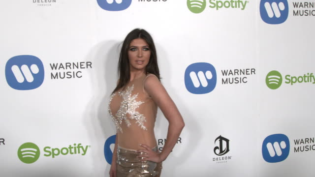 Brittny Gastineau at Warner Music Group Hosts Annual Grammy Celebration in Los Angeles CA
