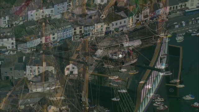 brixham and the golden hind - circumnavigation stock videos & royalty-free footage