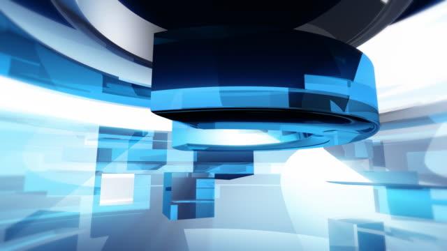 vídeos y material grabado en eventos de stock de animación de retransmisión (azul en blanco - imagen virada