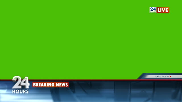 hd: broadcast news template - breaking news stock videos and b-roll footage