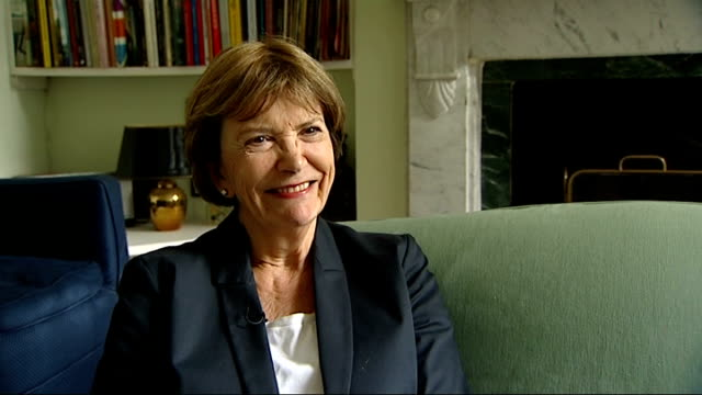 joan bakewell interview england london int joan bakewell interview sot he changed the face of broadcasting arrived with considerable talent had... - david frost broadcaster stock videos and b-roll footage