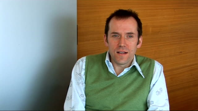 primeval actor ben miller interview ben miller interview continues sot - actress stock videos & royalty-free footage