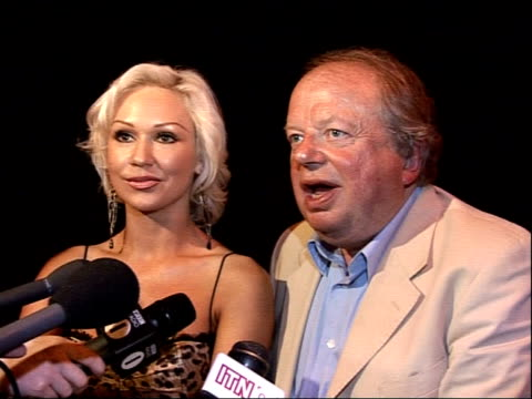 strictly come dancing line up announced john sergeant and kristina rihanoff interview sot - sergeant stock videos & royalty-free footage