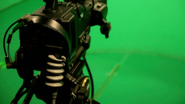 broadcasting studio green screen - stage set stock videos and b-roll footage