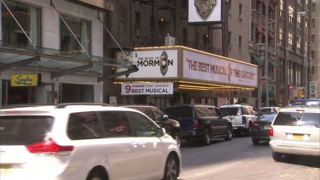 broadway show the book of mormon - mormonism stock videos & royalty-free footage