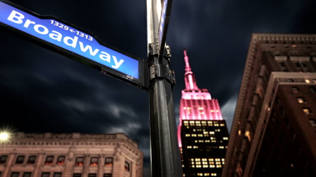 Broadway Street-Empire State Building