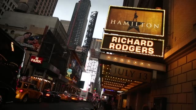 broadway theatres drew more than 13 million attendees a new record and sold $1365 billion worth of tickets in the theatre year which ended sunday - television show stock videos & royalty-free footage