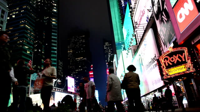 broadway times square new york - broadway show stock videos and b-roll footage