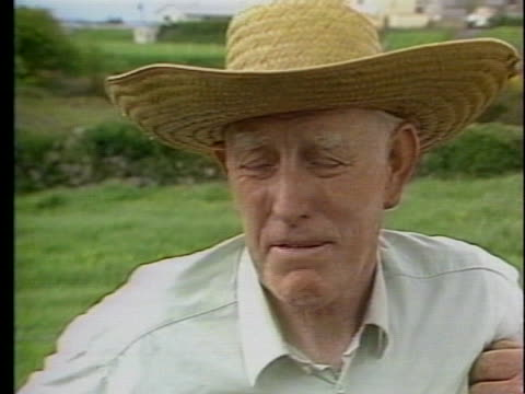 broady garritty comments on his knowledge of the potato famine in ireland. - business or economy or employment and labor or financial market or finance or agriculture stock videos & royalty-free footage