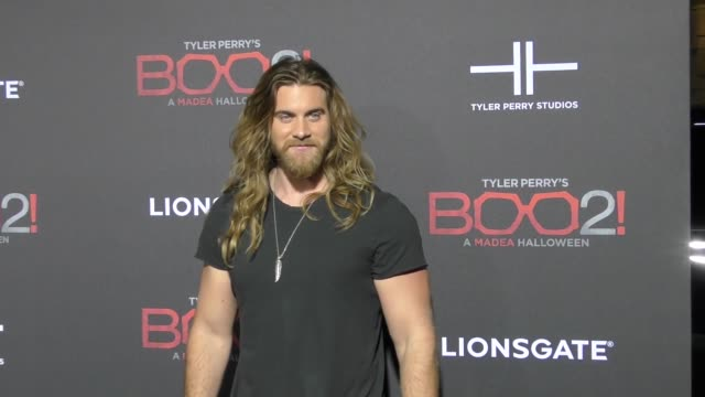 Brock O'Hurn at Lionsgate Presents The Los Angeles Premiere of Tyler Perry's 'Boo 2 A Madea Halloween' at LA LIVE on October 16 2017 in Los Angeles...