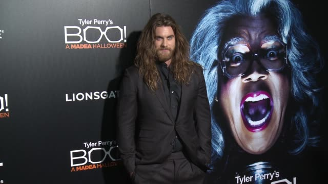 brock o'hurn at premiere of lionsgate's boo a madea halloween at arclight cinemas cinerama dome on october 17 2016 in hollywood california - cinerama dome hollywood stock videos & royalty-free footage