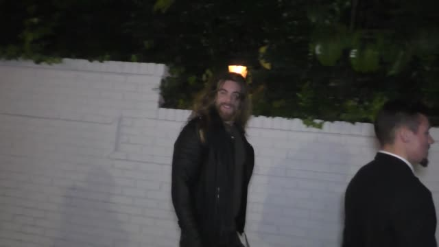 Brock O'Hurn at the 2017 GQ Men Of The Year Dinner Party at Chateau Marmont in West Hollywood in Celebrity Sightings in Los Angeles
