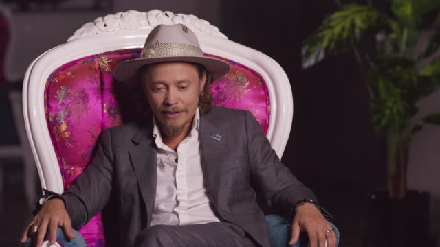 brock pierce talks about what he looks forward to the most in 2020 in los angeles, ca on march 28, 2020. - computer equipment stock videos & royalty-free footage