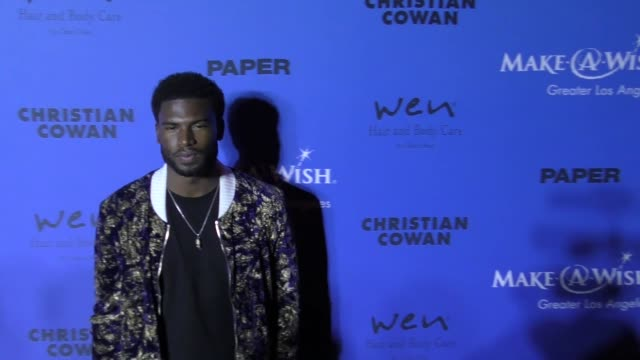 Broderick Hunter at the PAPER Magazine Runway Benefit For MakeAWish Foundation on October 24 2017 in Los Angeles California