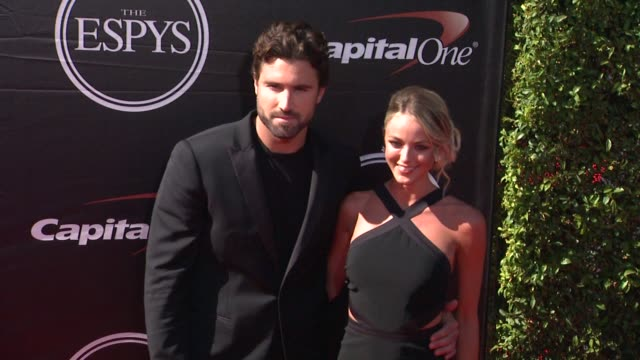 brody jenner at the 2015 espys at microsoft theater on july 15 2015 in los angeles california - microsoft theater los angeles stock videos and b-roll footage