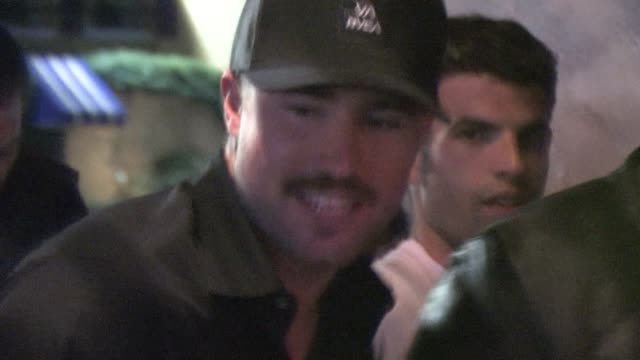 Brody Jenner at Voyeur in West Hollywood at the Celebrity Sightings in Los Angeles at Los Angeles CA