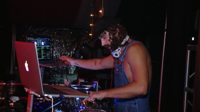 Brody Jenner DJs at The Playboy Mansion on October 24 2015 in Los Angeles California