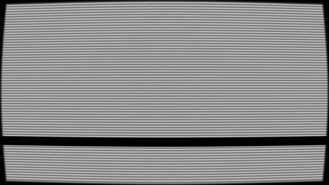 vídeos y material grabado en eventos de stock de antena rota granulada línea efecto vieja pantalla de televisión - pájaro carpintero escapulario