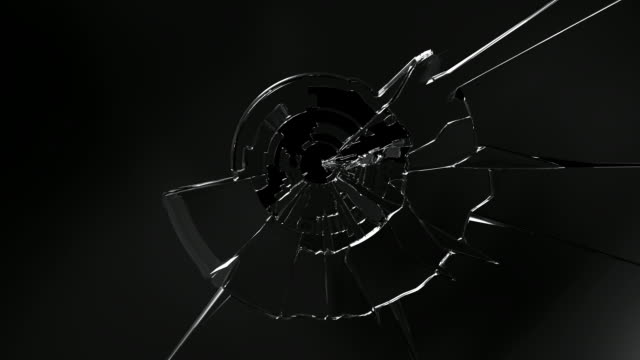 hd: broken glass - demolishing stock videos & royalty-free footage