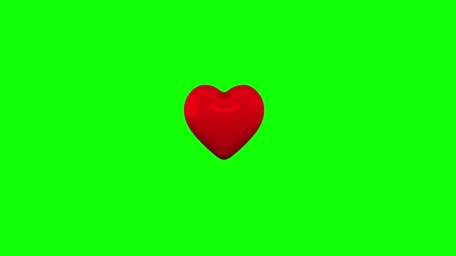 broken heart 3d animation, shattered heart animation green screen stock video - breaking stock videos & royalty-free footage