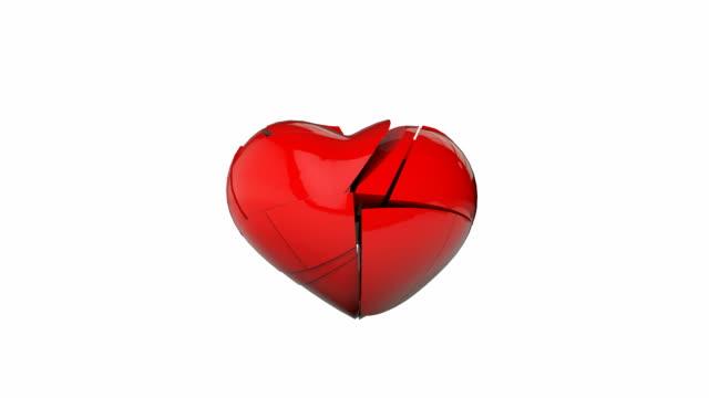 vidéos et rushes de cœur brisé - se briser