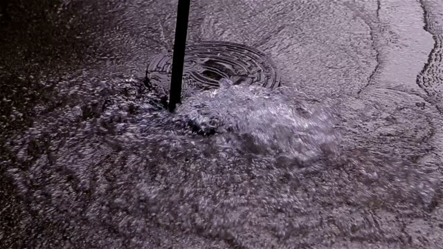 broken pipe on the street - pavement stock videos & royalty-free footage