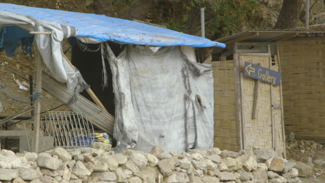 broken village shop in papua new guinea - papua new guinea stock videos & royalty-free footage