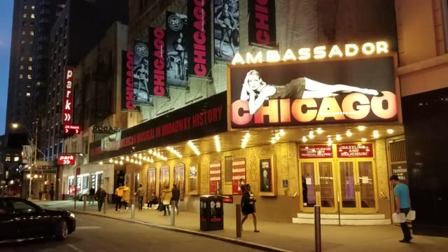 broll footage of broadway theaters cancel shows and shut down until till april 12th. - broadway manhattan stock videos & royalty-free footage