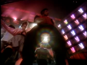 roll footage of people dancing for club mtv in 1989. - mtv stock videos & royalty-free footage