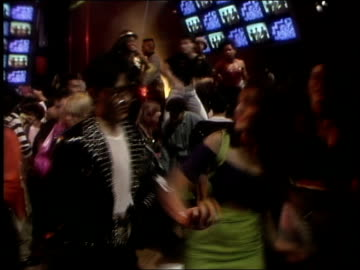 roll footage of people dancing for club mtv in 1990. - 1990 stock videos & royalty-free footage