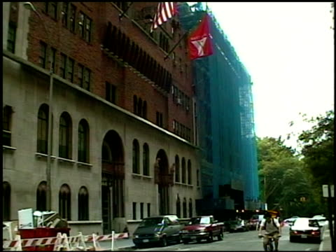 Broll footage of street scenes and buildings around New York City