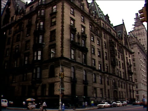 broll footage of the plaza hotel and central park in the 1980s - upper west side manhattan stock videos and b-roll footage