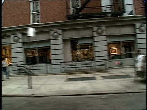 BRoll of 1994 New York City Streets Filmed from a Moving Car